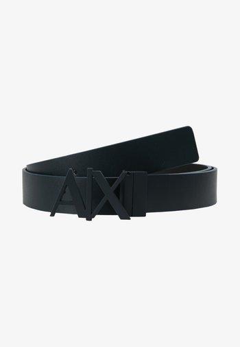 BELT - Cinturón - black/navy