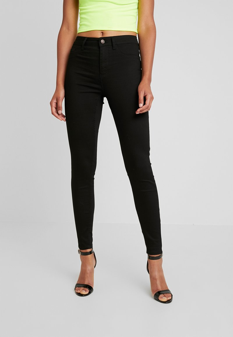 New Look - SUPER - Jeans Skinny Fit - black
