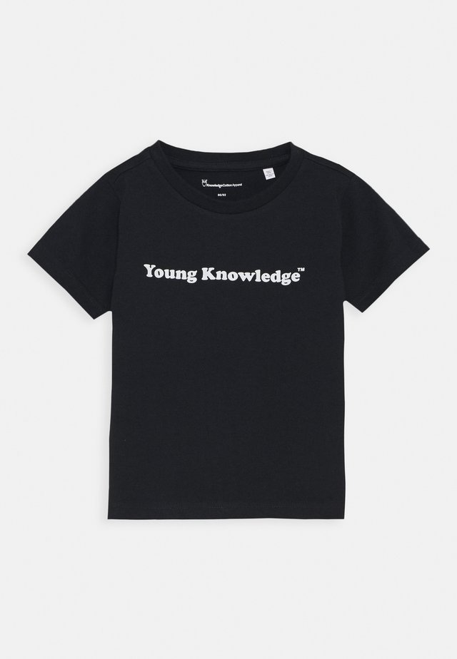YOUNG TEE - T-shirt print - total eclipse