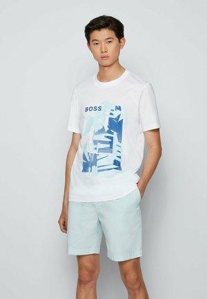 TIBURT  - T-shirt con stampa - white