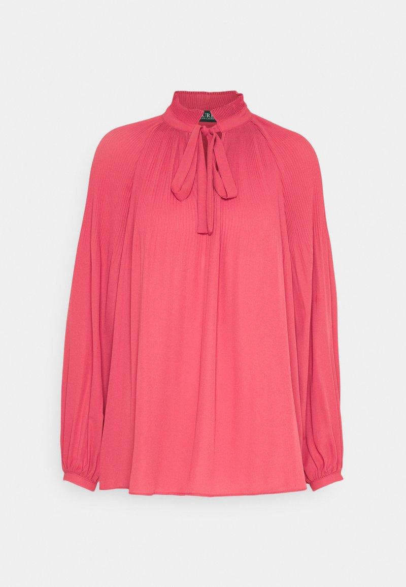 Lauren Ralph Lauren - DRAPEY - Blouse - moroccan pink