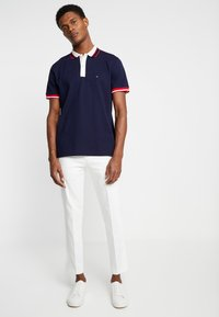 Tommy Hilfiger - CONTRAST PLACKET REGULAR  - Polo shirt - blue - 1