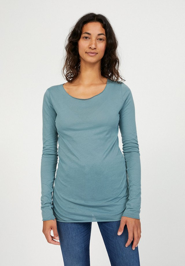 EVVAA CUSTOMIZED - Long sleeved top - soft moss