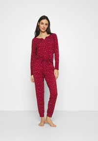 GAP - JOGGER - Pyjama bottoms - red delicious - 1