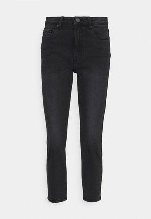 VMJOANA MOM  - Jeans relaxed fit - black