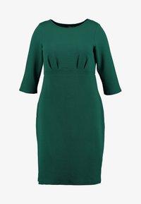 Dorothy Perkins Curve - EMPIRE WAIST BODY CON DRESS - Jersey dress - green - 4