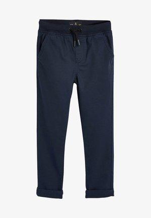 GREY RIB WAIST PULL-ON TROUSERS (3-16YRS) - Teplákové kalhoty - blue