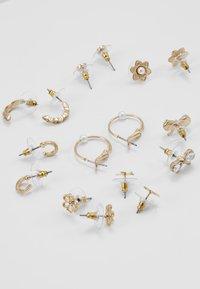 ALDO - REITDIEP 24 PACK - Earrings - gold-coloured - 2
