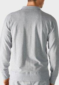 mey - MIT REISSVERSCHLUSS - Zip-up sweatshirt - grey - 1