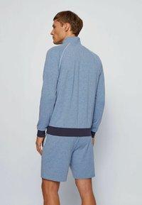 BOSS - Zip-up hoodie - open blue - 2