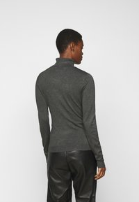 Vero Moda Tall - VMGLORY ROLLNECK - Strickpullover - dark grey - 2
