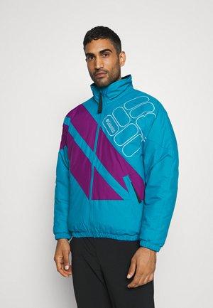 SIDELINE - Winter jacket - fjord blue/plum