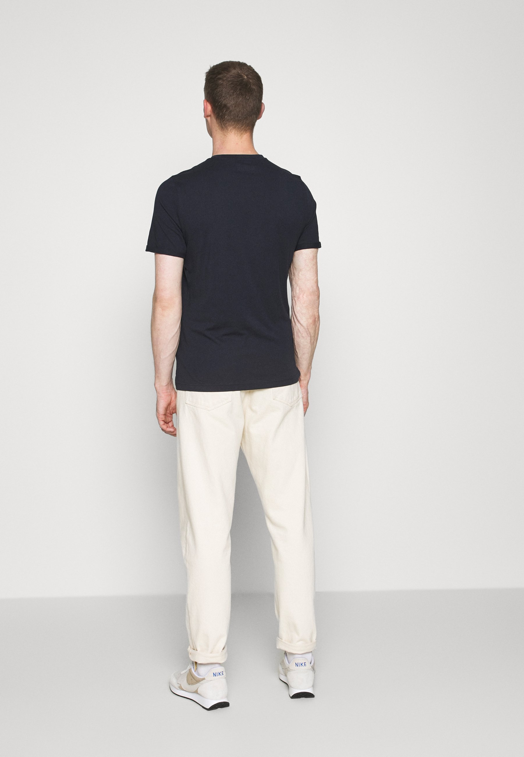 Mustang ALEX C - Print T-shirt - dark blue Fdt5k