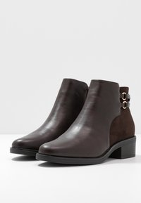 Anna Field Wide Fit - Ankle boots - brown - 4