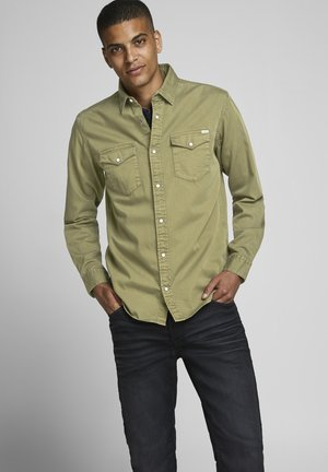 WESTERN  - Shirt - olive night