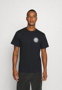 HUF - REGIONAL PUFF TEE - Print T-shirt - black - 2