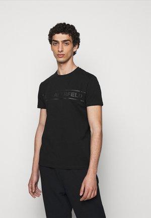 CREWNECK - Print T-shirt - black