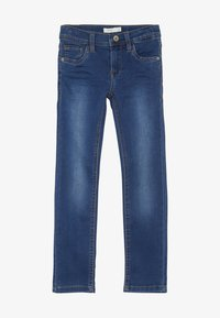 Name it - NKMTHEO PANT - Jeans Slim Fit - dark blue denim - 2