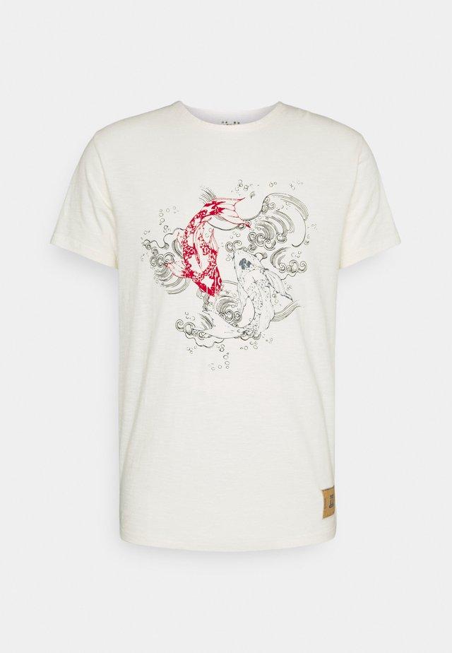 KOI - Print T-shirt - marshmellow