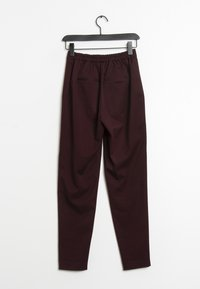 YAS - Trousers - red - 1