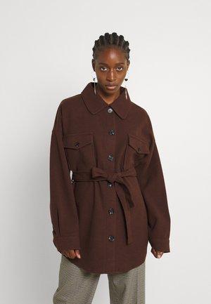 MY DEAREST SHACKET - Short coat - brown