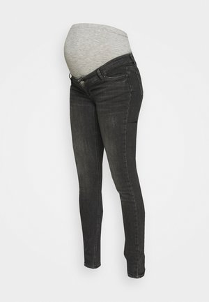 MLSAVANNA ORGANIC - Jeans Skinny Fit - dark grey denim