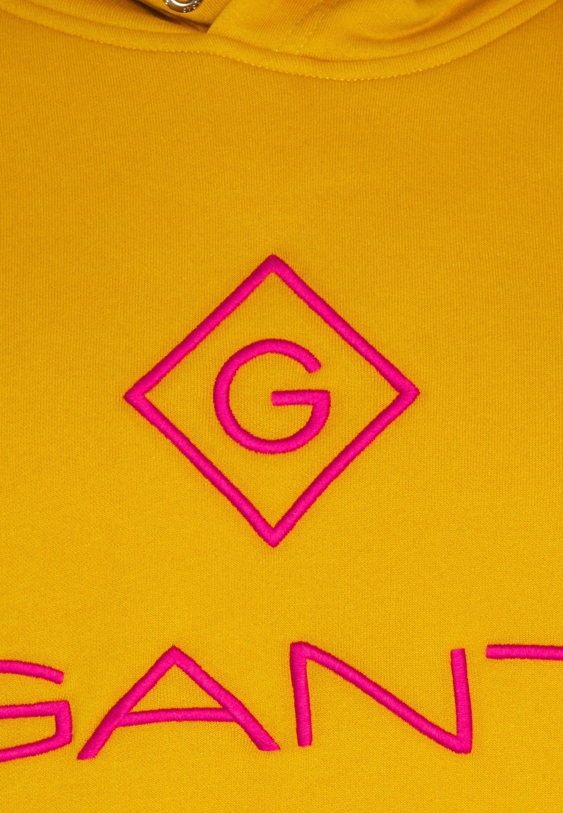 GANT LOCK UP HOODIE - Sweat à capuche - ivy gold