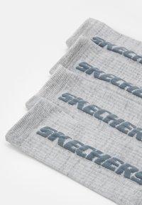 Skechers - 4 PACK - Sports socks - light grey random - 1