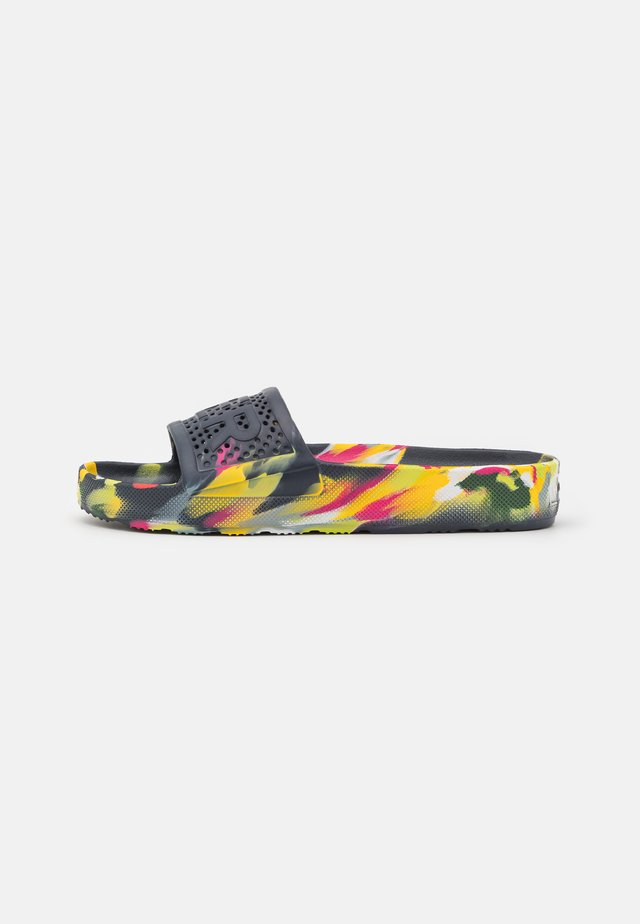 ORIGINAL MARBLE LIGHTWEIGHT MOULDED SLIDE - Pantolette flach - multicolor bright