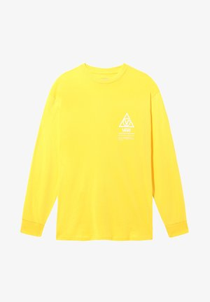 MN 66 SUPPLY LS - T-shirt con stampa - lemon chrome
