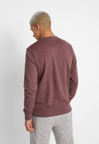 Jack & Jones - JORBASIC CREW NECK 2 PACK - Bluza - total eclipse - 2