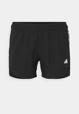 RUN IT SHORT - Korte broeken - black/white