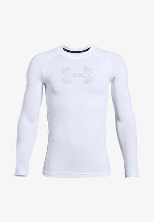 HEATGEAR LONG SLEEVE - Sports shirt - white