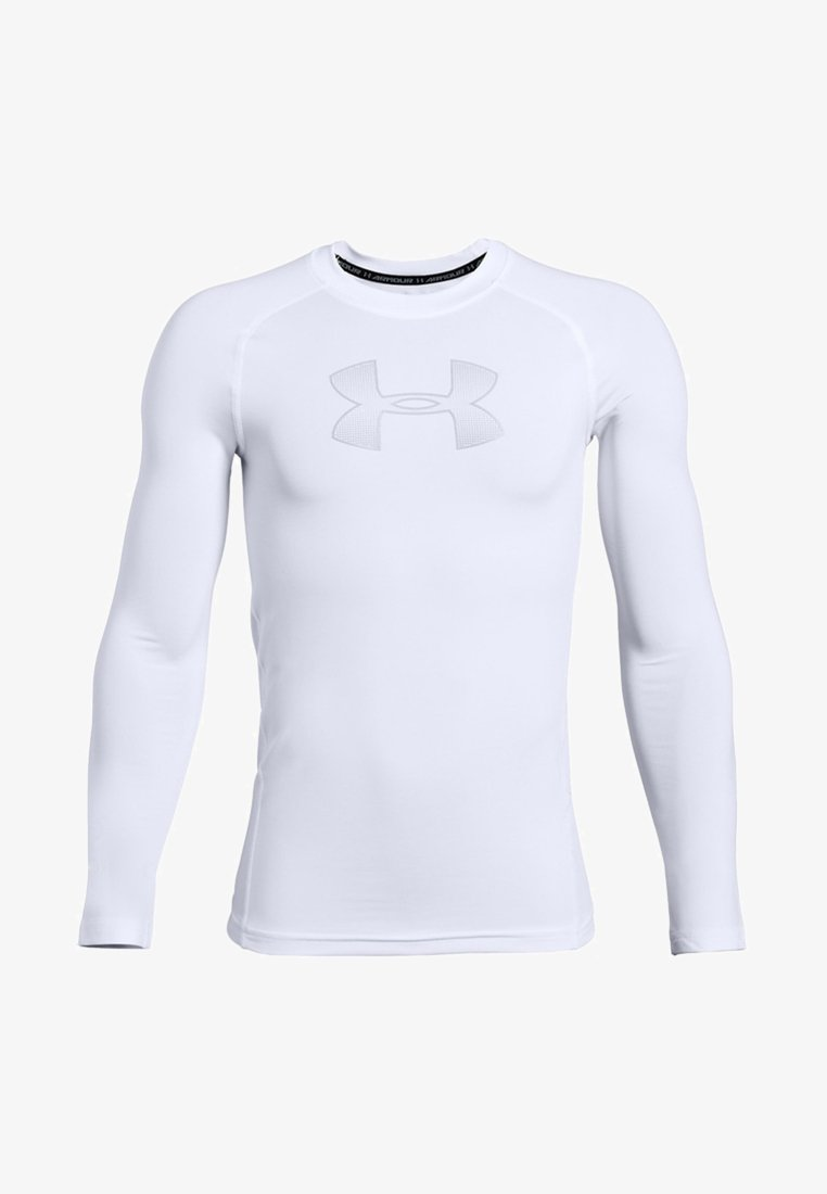 Under Armour - HEATGEAR LONG SLEEVE - Sports shirt - white