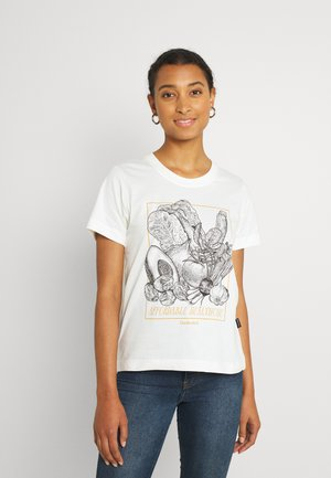 MYSEN AFFORDABLE HEALTHCARE - Print T-shirt - off-white