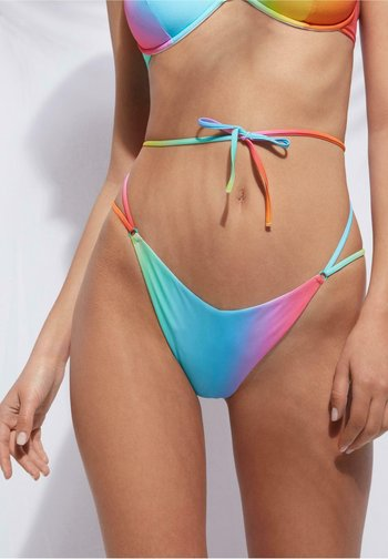 Bikini bottoms - rainbow