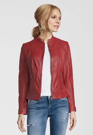CONA - Leather jacket - red