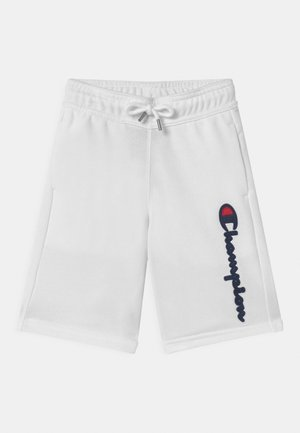 LOGO BERMUDA UNISEX - Sports shorts - white