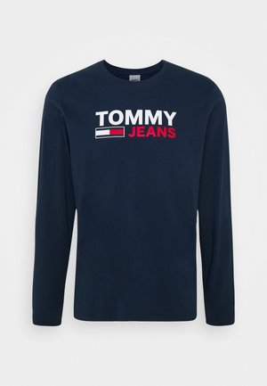 LONGSLEEVE LOGO TEE - Long sleeved top - twilight navy