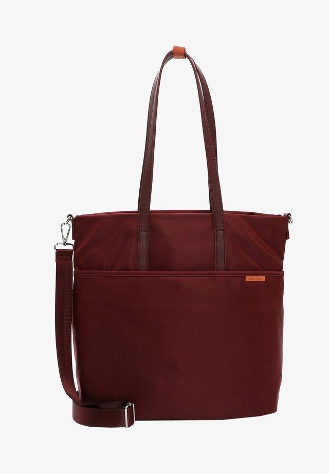 DAGMAR - Shopping Bag - wine