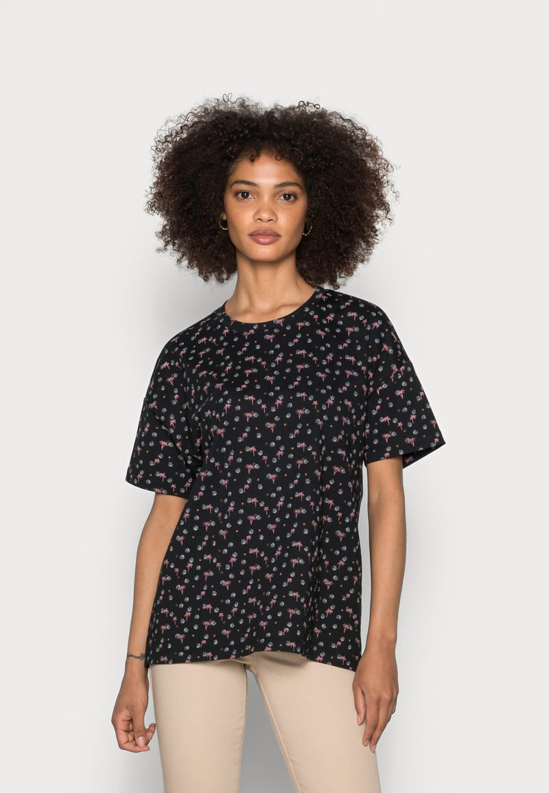 Esprit - T-shirt imprimé - black