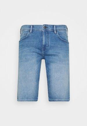 Jeans Short / cowboy shorts - blue light wash