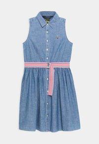 Polo Ralph Lauren - CHAMBRAY DRESSES - Denimové šaty - indigo - 0