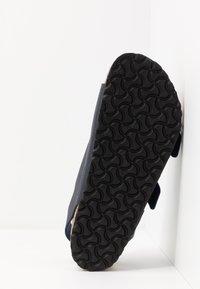 Birkenstock - MILANO BF VEGA - Sandals - matt navy - 4