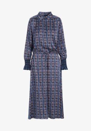 KIR - Maxi dress - dots blue