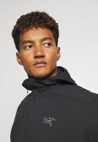 Arc'teryx - KYANITE LT HOODY MENS - Fleece jacket - black - 3