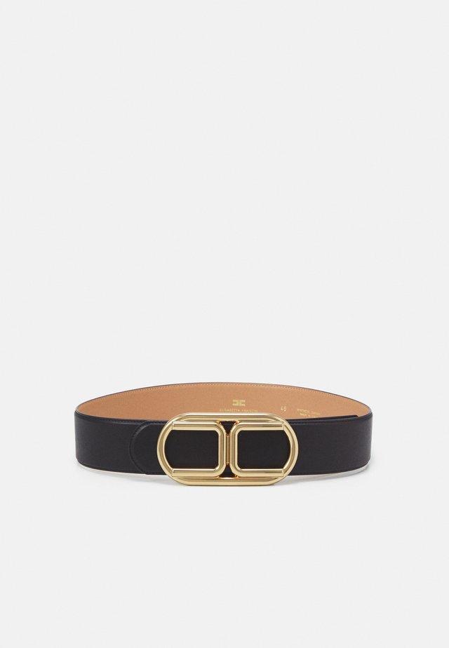 LOGO BELT - Belt - nero