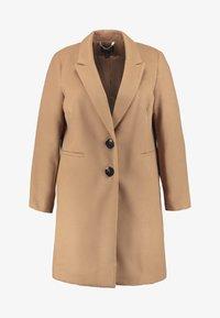 SINGLE BREAST COAT - Krátký kabát - camel