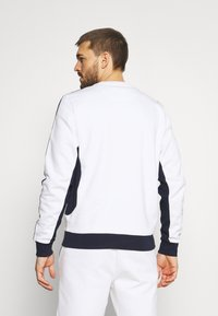 Lacoste Sport - TAPERED - Sweatshirt - white/navy blue - 2