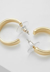 SNÖ of Sweden - CARRIE EAR PLAIN - Earrings - gold-coloured